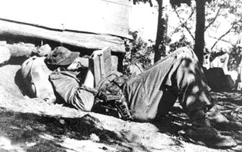 Historic image of Fidel Castro, Cuba.
